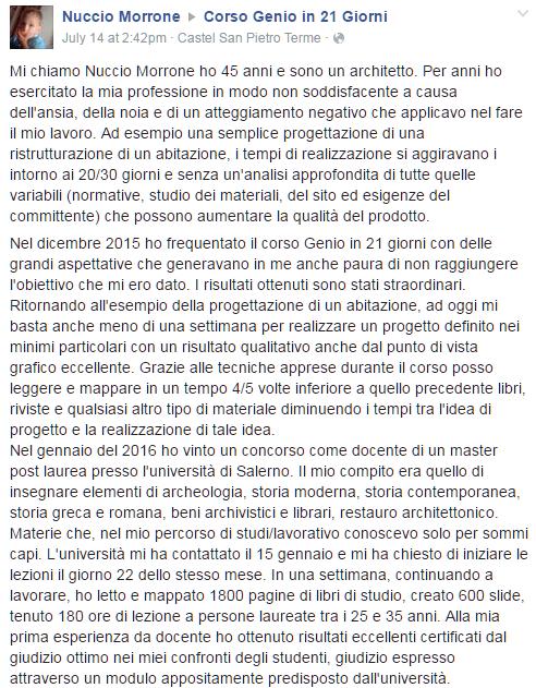 Testimonianza Nuccio