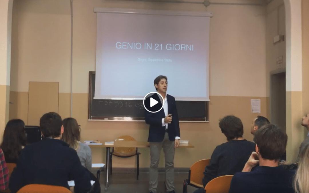 Massimo De Donno all'Università di Bologna