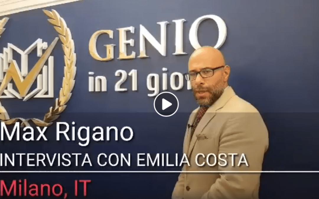 Prof. Emilia Costa parla di Genio a Max Rigano News