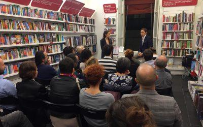Presentazione di Vinci la Dislessia in Mondadori Bologna