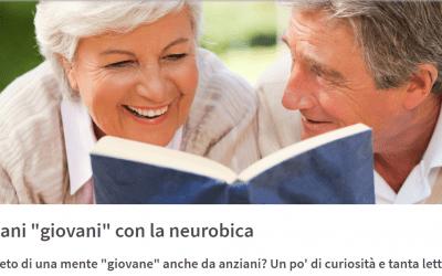 """Il segreto di una mente """"giovane"""" anche da anziani? Un po' di curiosità e tanta lettura"""