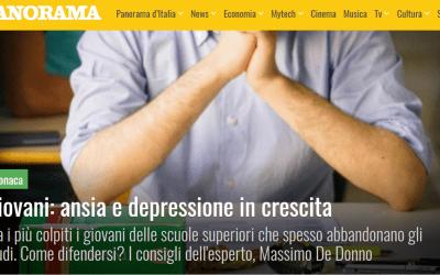 Panorama | Giovani: ansia e depressione in crescita