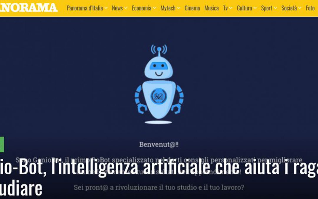 Panorama | Genio-Bot, l'intelligenza artificiale che aiuta i ragazzi a studiare