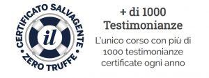 """Testimonianze Certificate Genio in 21 Giorni da """"Il Salvagente"""""""