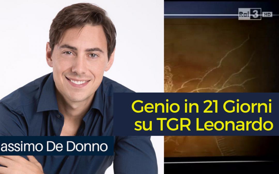 TGR Leonardo racconta l'alleanza tra Genio in 21 Giorni e CNR [VIDEO]
