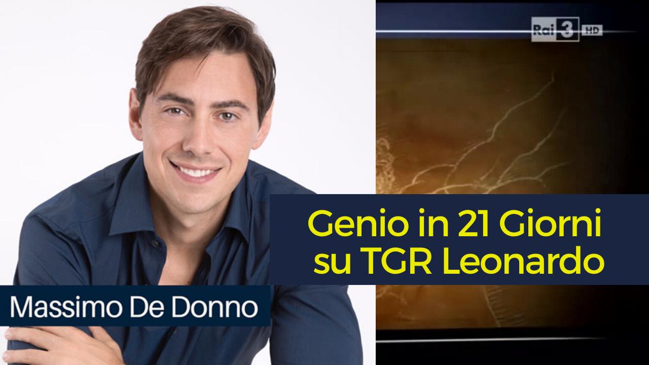 Genio in 21 Giorni su TGR Leonardo
