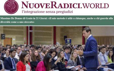 NuoveRadici.world | Massimo De Donno e Genio in 21 Giorni