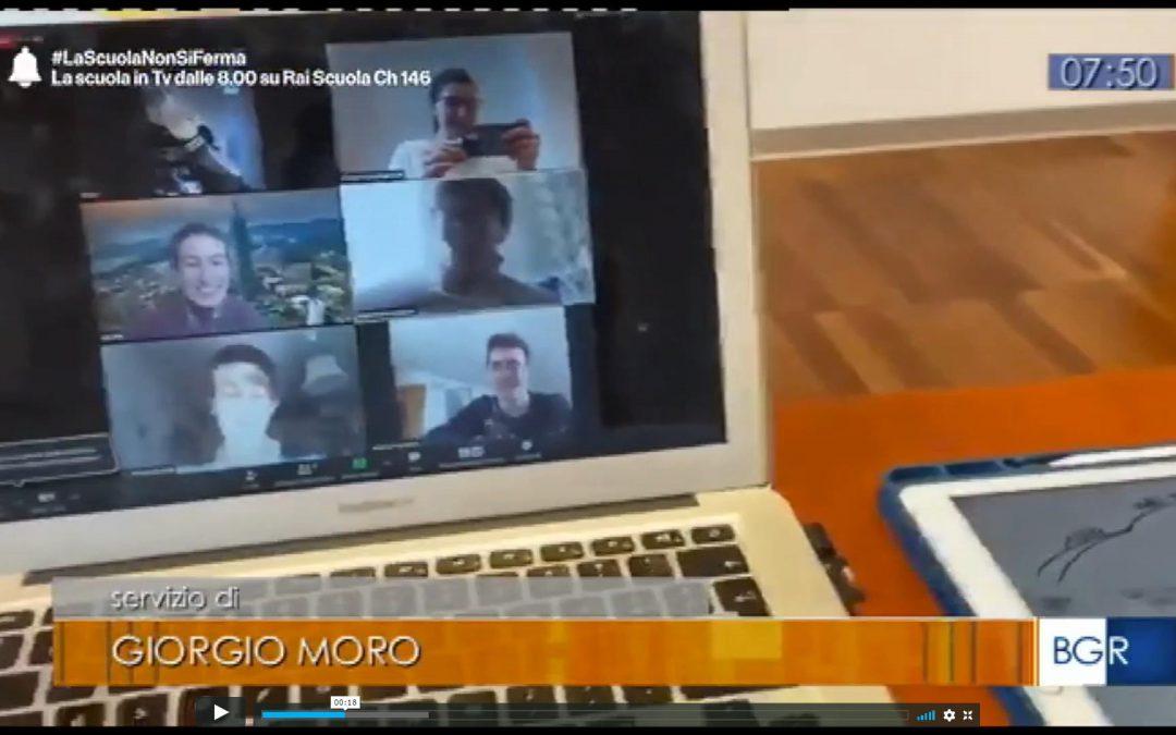 #lascuolanonsiferma: Rai Scuola parla delle Aule Web di Genio in 21 Giorni