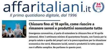 affaritaliani genio in 21 giorni chiusura per coronavirus