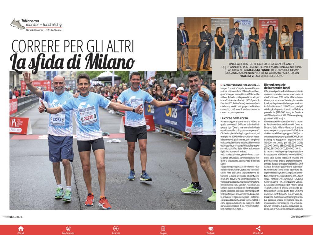Correre Milano Marathon