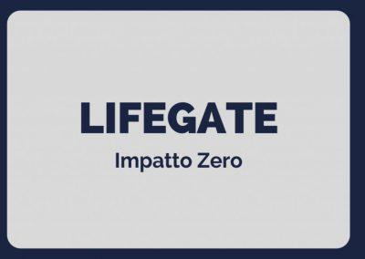 lifegate genio in 21 giorni
