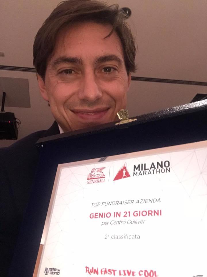 milano marathon genio top fundraiser