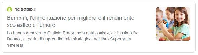 Superbrain Nostrofiglio Massimo De Donno