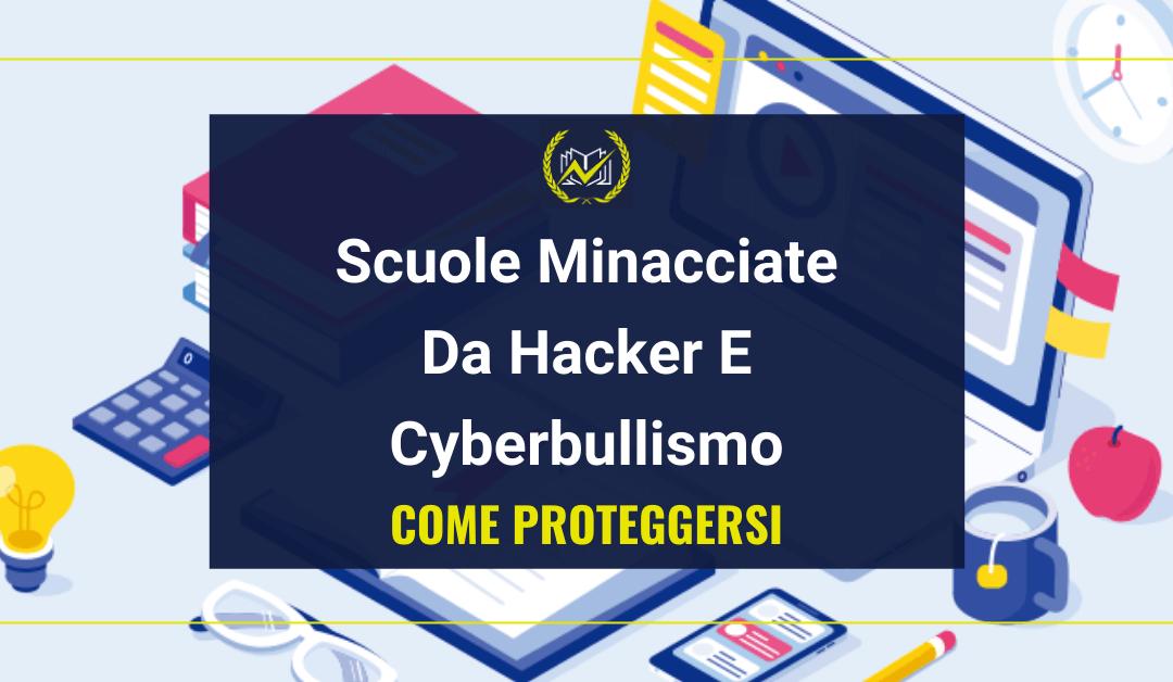 """Denuncia Truffa DaD: """"Hacker E Cyberbullismo Minacciano La Didattica A Distanza"""""""