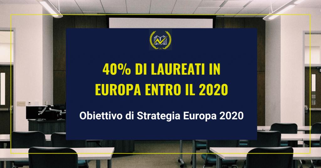 Il ruolo dell'UE la strategia Europa 2020 e la Relazione di monitoraggio dell'istruzione Genio in 21 giorni